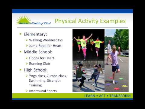 Physical Activity - HealthierUS School Challenge: Smarter Lunchrooms Initiative