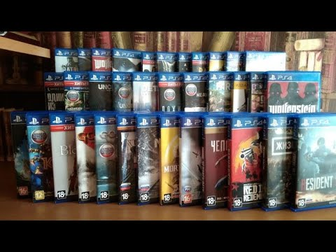 Моя коллекция игр на PlayStation 4 (PS4)