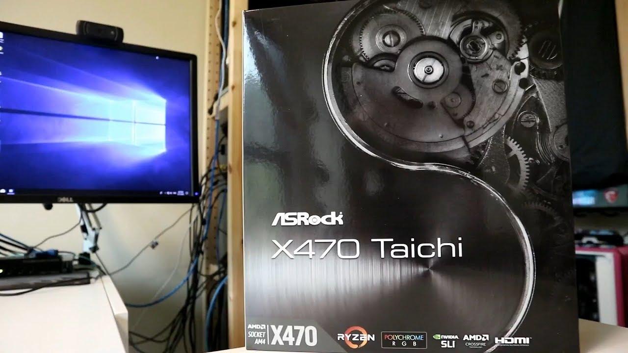The Best X470 Ryzen Motherboard? - ASRock X470 Taichi