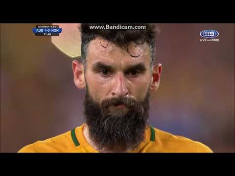 2017 Wold Cup qualifier The Socceroos Vs Honduras highlight 3:1 goal 2