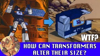 How can Transformers shrink or enlarge when they transform?