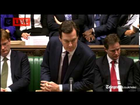 Chancellor's Autumn Statement 2012 in full