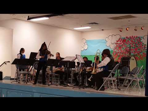 Playing at Pence Elementary school- 5.11.18