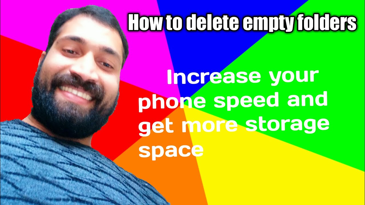 How to Delete Empty Folder in Android Phone!! - YouTube
