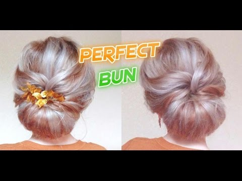 wedding-hairstyle-perfect-bun-|-awesome-hairstyles