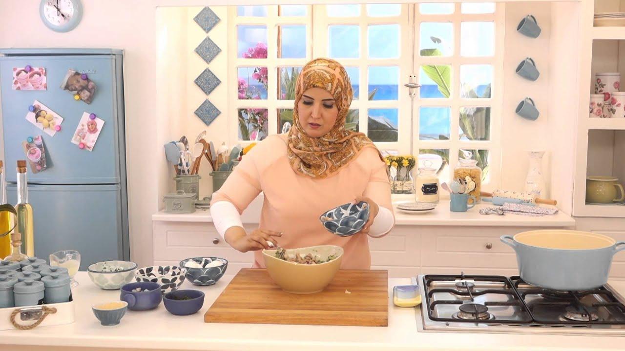 كروكيت الرنجة وسلطة الطحينة بالبصل مع أسيا عثمان فى مطبخ أسيا (الجزء الأول)