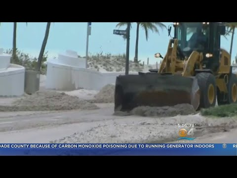 Ft. Lauderdale Beach Clean Up Continues