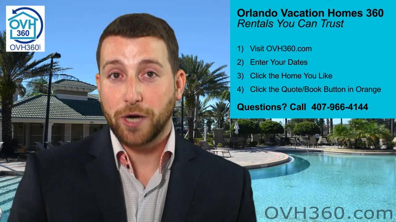 Orlando Vacation Homes 360 (T) 407-966-4144 - OVH360 ...