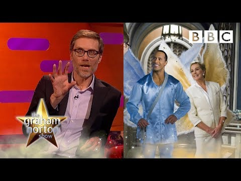 When Stephen Merchant came toe to toe with THE ROCK! 💪  - BBC The Graham Norton Show