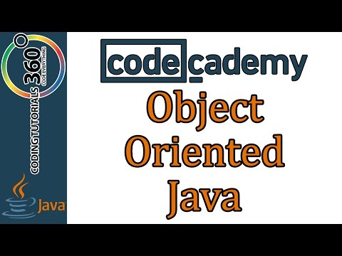 Object Oriented Java: Learn Java with Codecademy