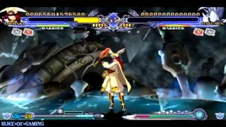 Slice of Gaming - BlazBlue: Continuum Shift II (PSP) Tsubaki Arcade Run (Full)