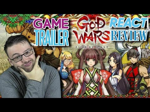 God Wars: Future Past Official Story Game Trailer Reaction Review
