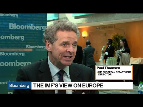 IMF's Thomsen on Trade, Greece, Integration of Europe
