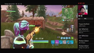 Fortnite PS4 Solo (Skin da Mc Loma, Uai)