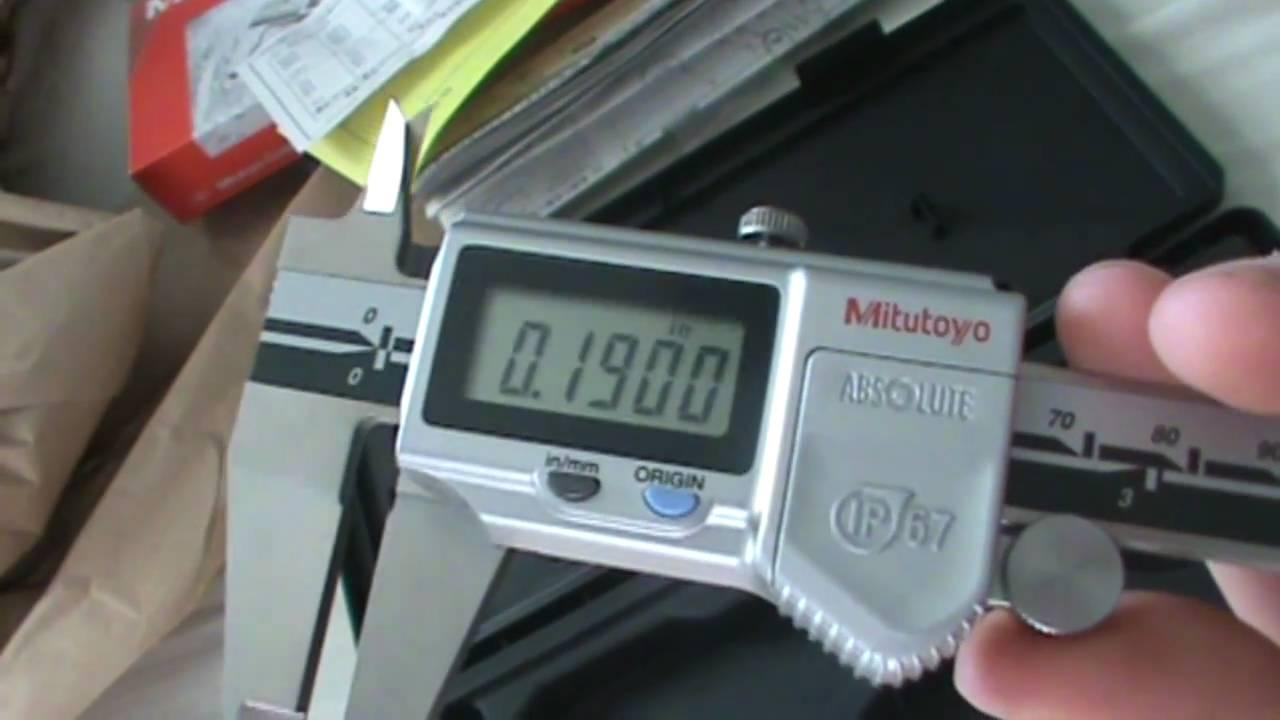 Mitutoyo Digital Caliper Unboxing
