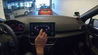 SEAT Tarraco XCELLENCE Bedienungssystem Review, Infortainmantsystem, Infos, Handhabung, Touchscreen