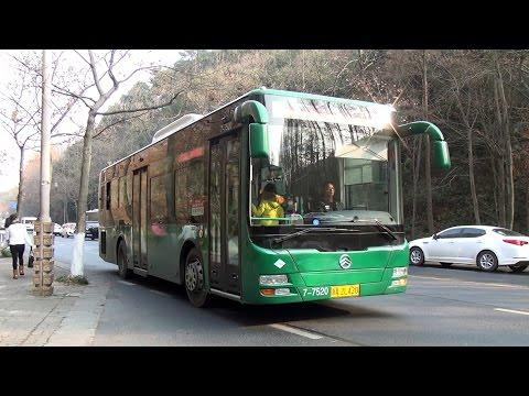杭州巴士金旅XML6105J15CN @ 197 文三支路-動物園 HangZhou Bus Rt.197