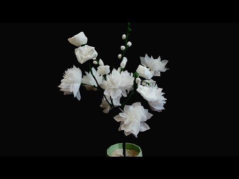 Cara Membuat Bunga dari Kertas Tisu  aeea7a7d8f