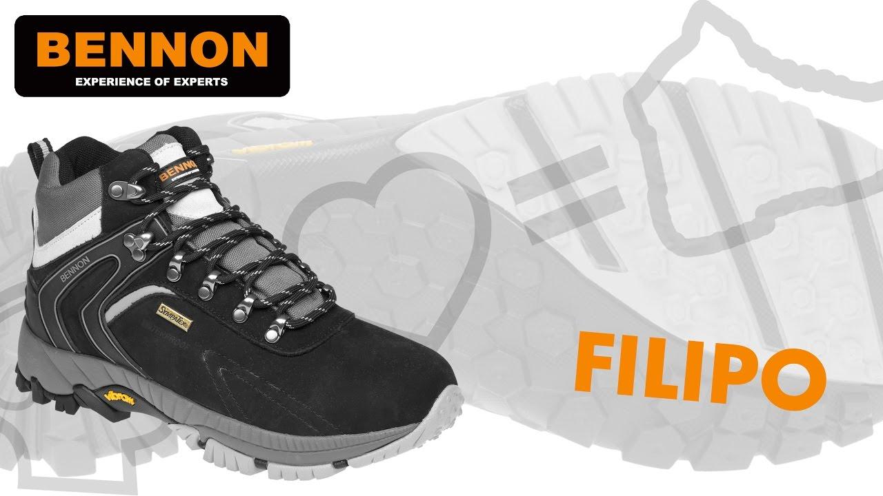067104085b3d6 Treková obuv Bennon Filipo O2 s membránou | oblecsadoroboty