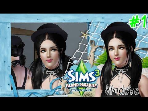The Sims 3 Island Paradise #1 สร้างซิมส์ น้องเมดสาวสวย