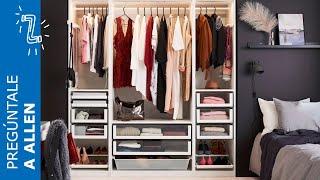 Gambar cover Cómo organizar el armario para distintas prendas - IKEA