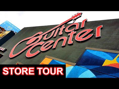 GUITAR CENTER LA - Store Tour   Hollywood, Los Angeles, California