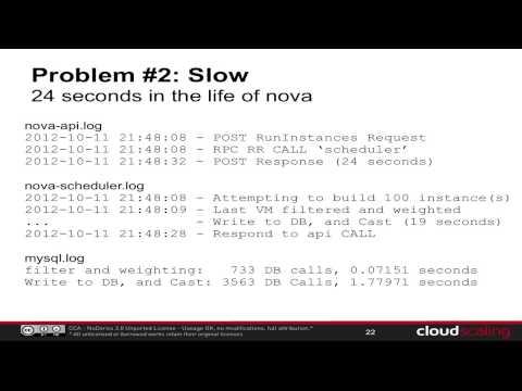Profiling the Nova Scheduler