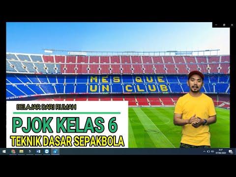 PJOK KELAS 6 (Permainan Bola Besar (SEPAKBOLA))