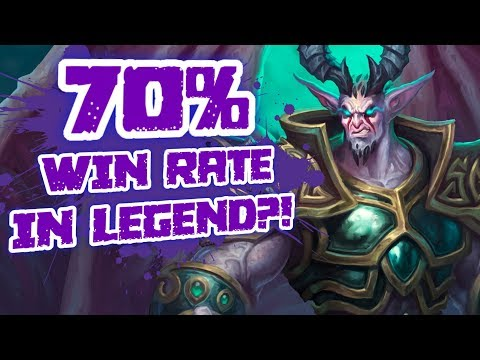 70% Win Rate in High Legend? He Actually Made Warlock Great Again!