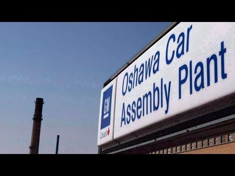 GM Plant In Oshawa Winds Down Production