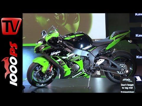 Kawasaki Ninja ZX-10R 2016   First Look - Presentation - technical Specs