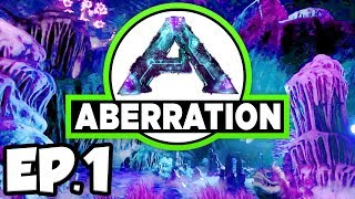 connectYoutube - ARK: Aberration Ep.1 - NEW DINOSAURS & CREATURES IN A NEW MODDED WORLD!! (Modded Dinosaurs Gameplay)