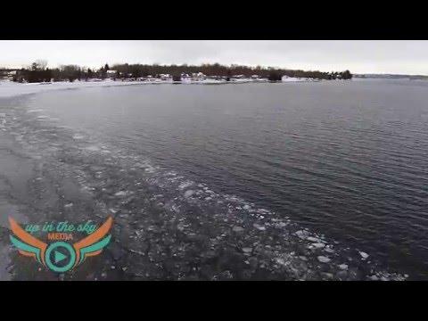 Kempenfelt Bay Ice Conditions - January 21, 2016