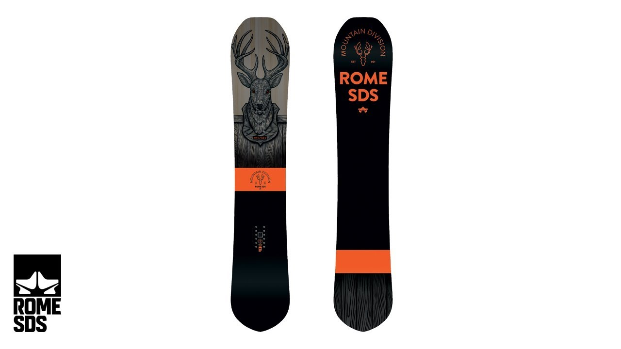 f00f5a24d3aa 2018 Men s Mountain Division. Rome Snowboards