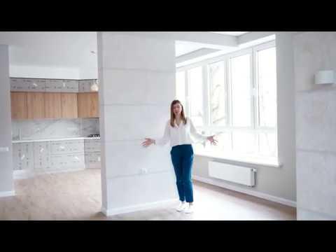 Обзор завершенного комплексного ремонта к квартире площадью 77 квадратных метров