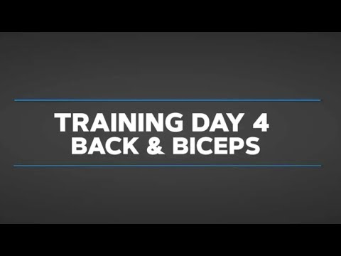 Gethin's Beginner Daily Video Trainer: Day 4 Back And Biceps
