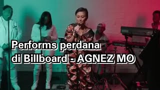 "Gambar cover Agnez Mo Performs "" Damn i love you ""  live billboard"