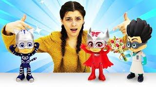 Герои в масках - Ромео влюбился в Алетт. Супергерои в ToyClub