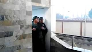 Militares Disparando en el restaurant rodeo grill de bqto (12-02-14)