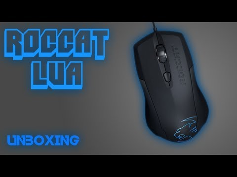 Roccat Lua Tri Button Gaming Mouse Unboxing