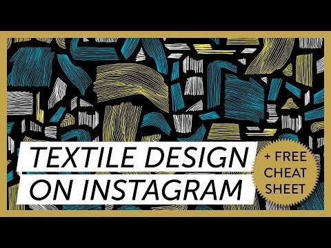 Textile Pattern Design : Top Textile Designers On Instagram - Pattern Design