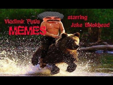 Vladimir Putin Riding a Bear & Vladimir Putin Memes (ft. Jake ...