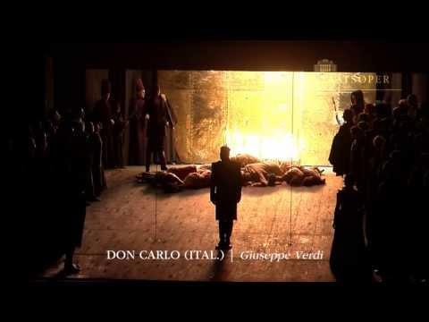 "Giuseppe Verdi: ""Don Carlo, ital."" (Trailer)   Wiener Staatsoper"