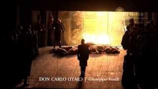 Giuseppe Verdi: DON CARLO, ital. (Trailer) | Wiener Staatsoper
