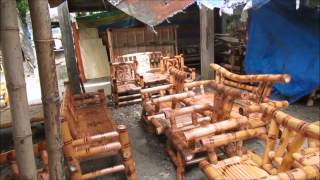 Philippine Handmade Bamboo And Mahogany Furniture Here!
