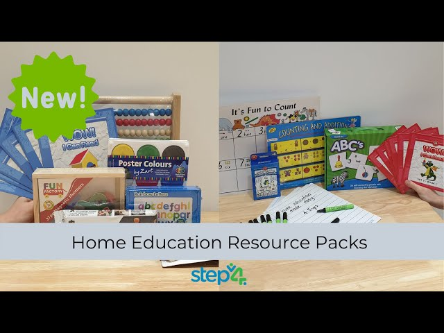 Yes! Home Education Packs Available