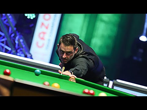 Ronnie O'Sullivan 128 Clearance To Pink | Cazoo Tour Championship Final | ITV4