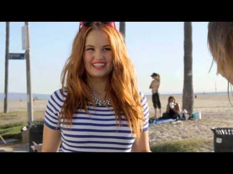 Debby Ryan Seventeen MX Magazine BTS