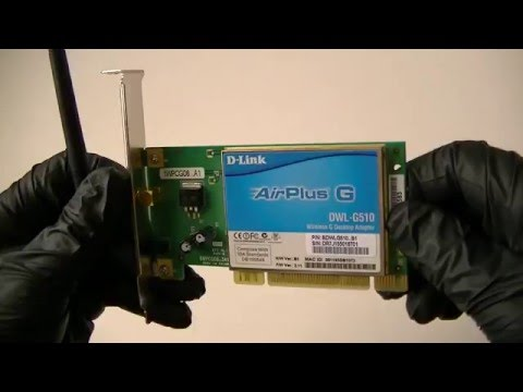 D LINK AIRPLUS G DWL G510 WIRELESS PCI TREIBER WINDOWS 7