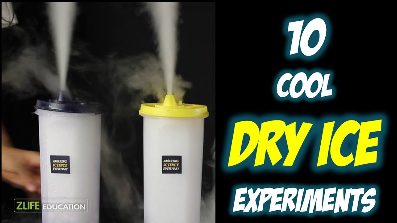 top 10 dry ice experiments for kids youtube